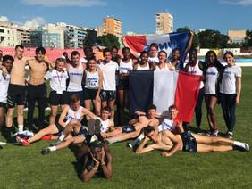 Nos 2 Internationales ont fait honneur au Maillot Tricolore