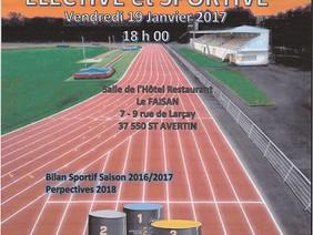 N'oubliez pas, A.G. Sportive Vendredi 19 janvier 2018