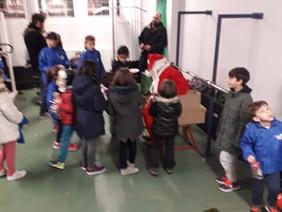 Le père Noël est passé à Grandmont.