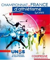 La Section Scolaire d'Athlétisme du lycée Grandmont au Championnat de France UNSS