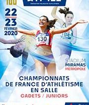 Eva GUINGOUAIN Médaille de Bronze au France Cadettes Indoor