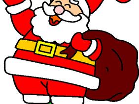 Le Père Noël de passage au stade Grandmont