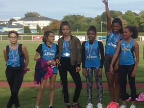 Championnat Inter Régional Equip'Athlé - Nos petites nanas brillent à Saran
