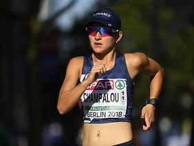 Lucie CHAMPALOU à la Coupe d'Europe de Marche