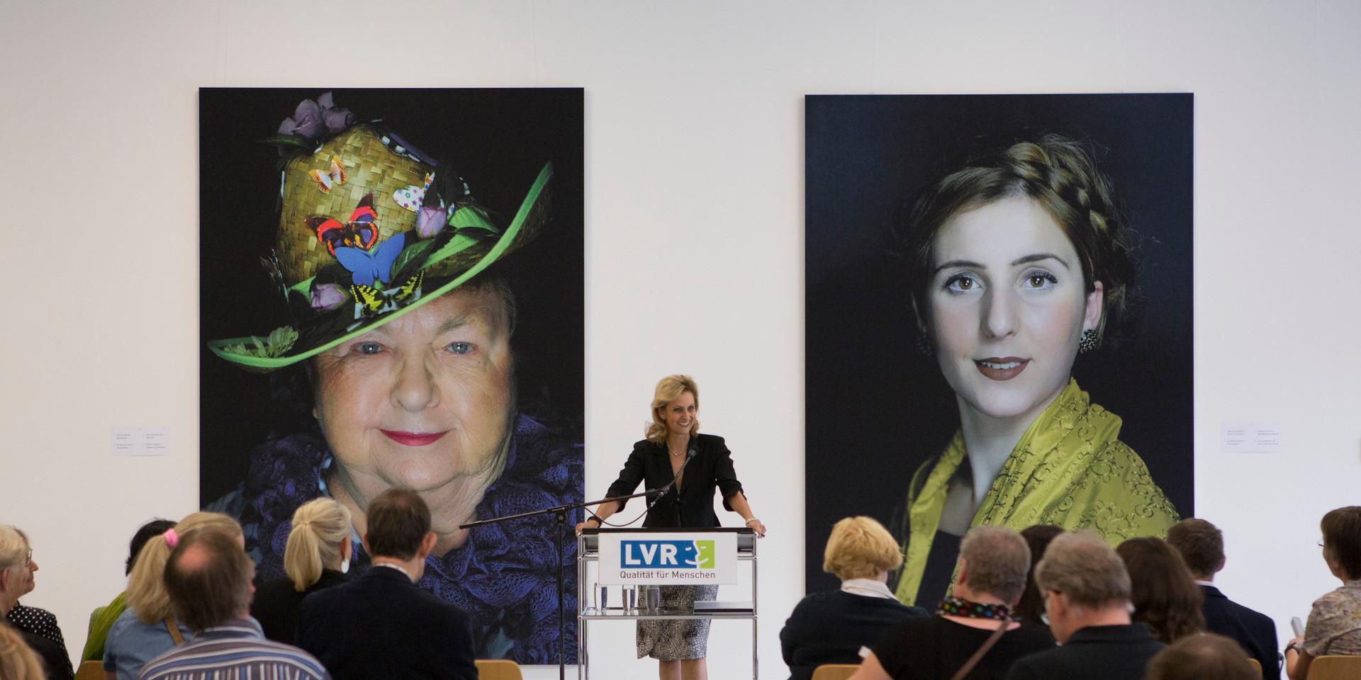 Ulrike Lubeck Direktorin des LVR und Schirmherrin des Projektes