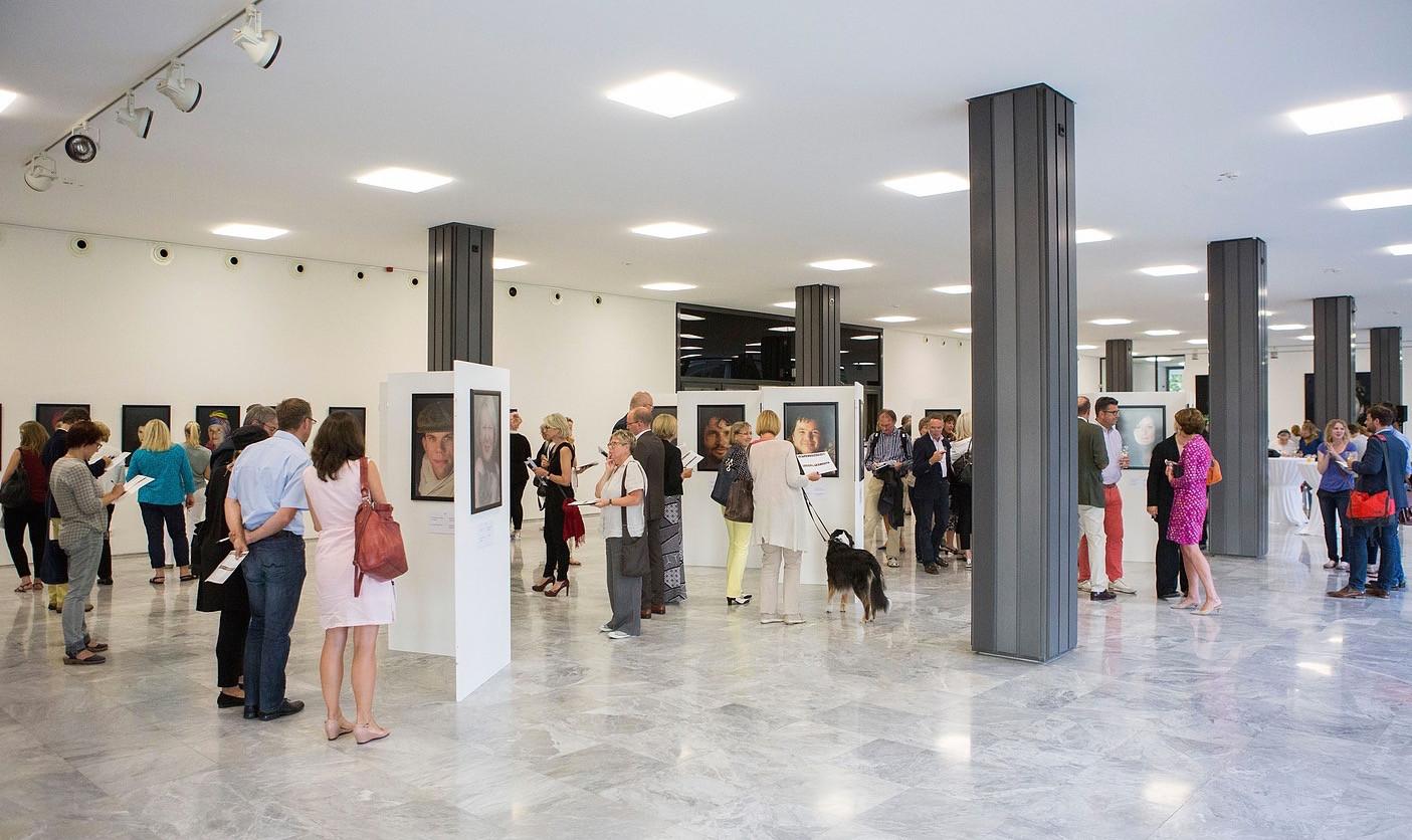 Vernissage 09/2016  im Landeshaus des LVR in Köln