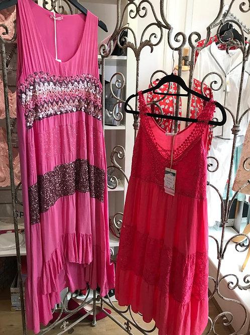 Miss Sugar Pink Sequin Dress