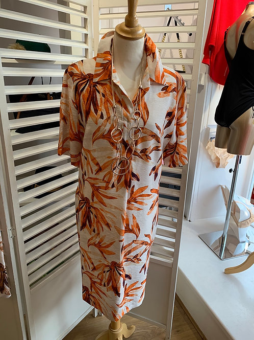 Pomodoro shirt dress