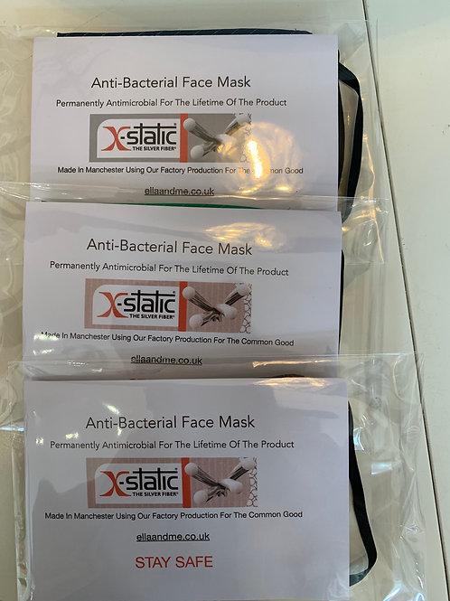 Antibacterial facemask