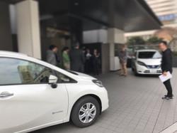 国産車メーカー新聞社タイアップ試乗イベント