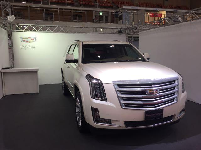 Cadillac Fukuoka Motor Show 2015