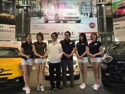 Alfa Romeo/FIAT/ABARTH 博多駅ジャック 2017