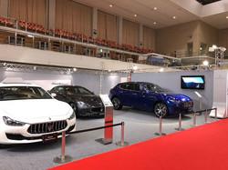 Maserati ブース 福岡モーターショー