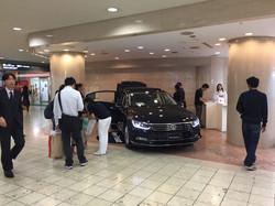 Volkswagen New Passat 展示キャラバン 大阪