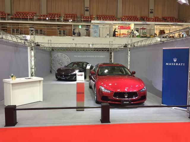 MASERATI Fukuoka Motor Show 2015