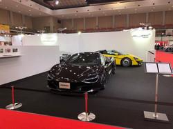 McLaren ブース 福岡モーターショー