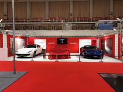 Ferrari ブース 福岡モーターショー