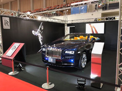 Rolls Royce ブース 福岡モーターショー