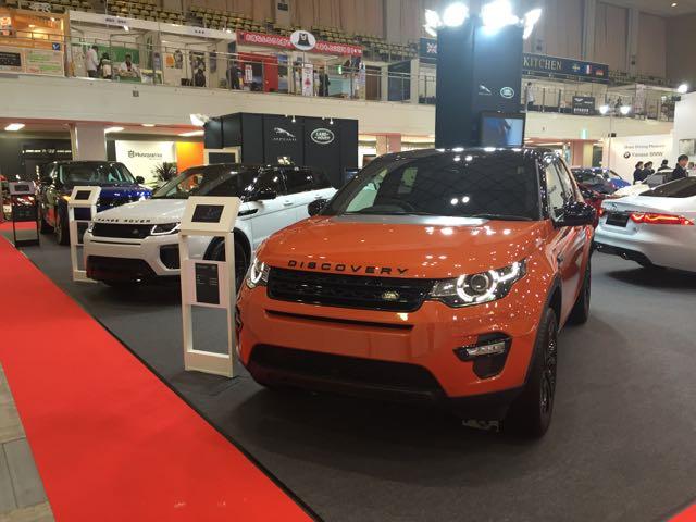 Land Rover Fukuoka Motor Show 2015