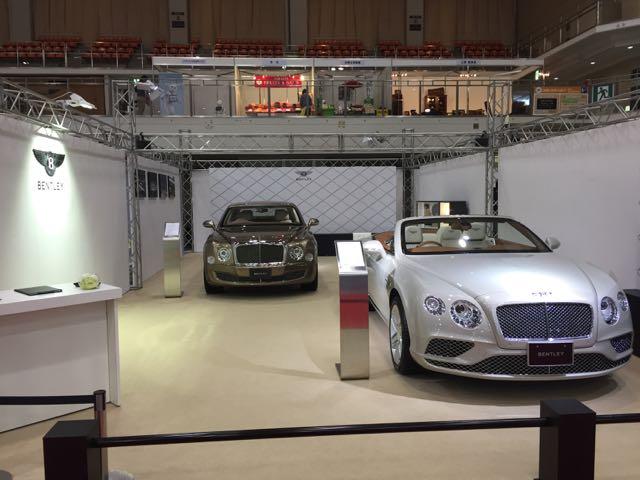 BETLEY Fukuoka Motor Show 2015