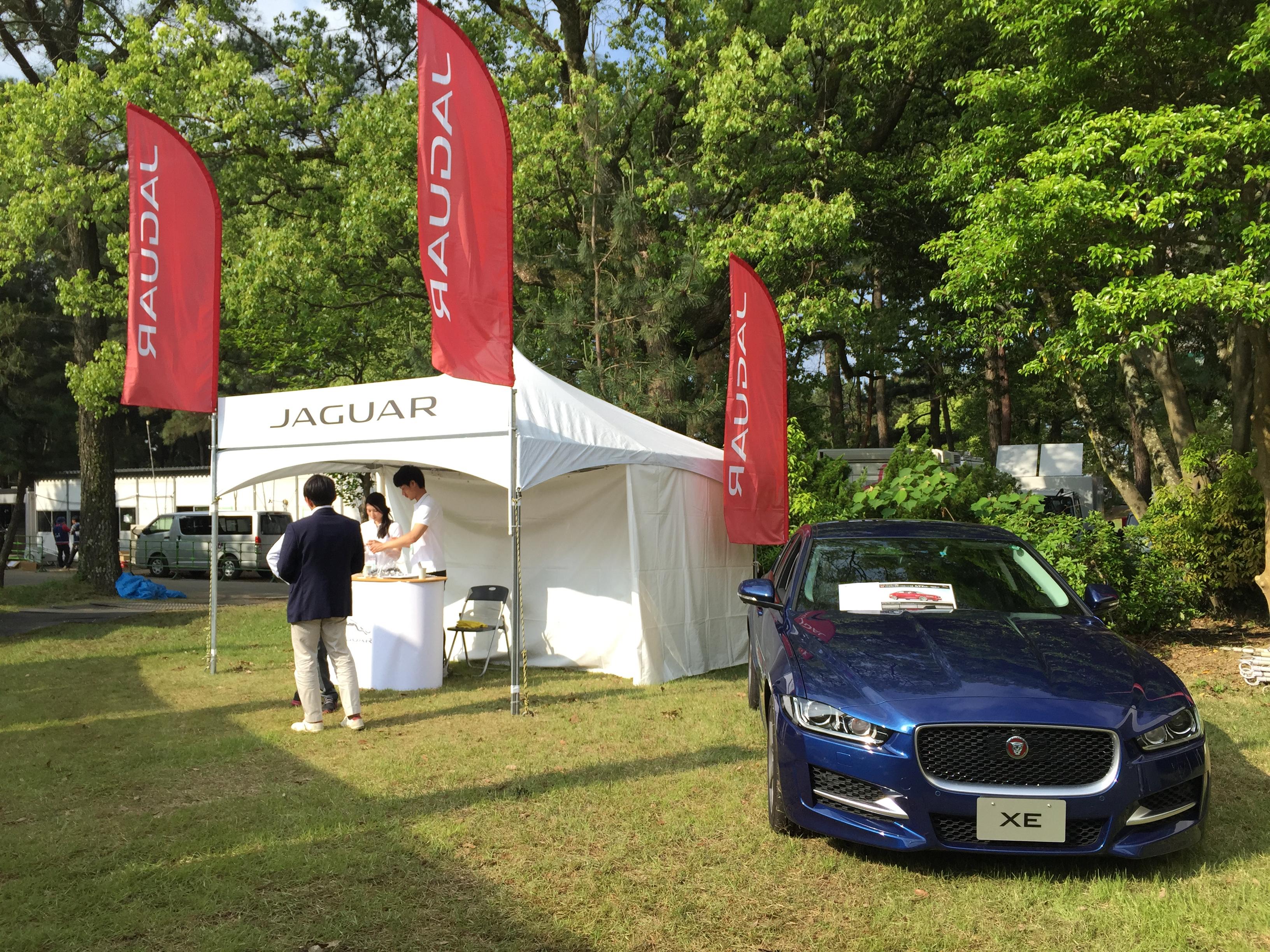 保険の窓口レディース Jaguar 車両展示