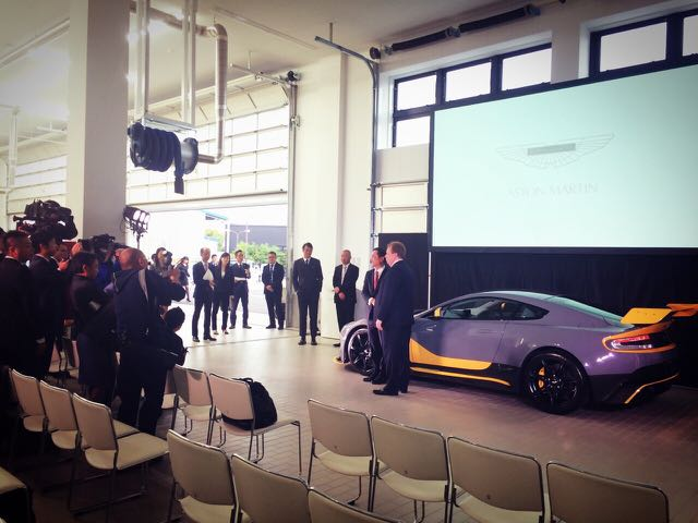 Aston Martin VANTAGE GT12 Event