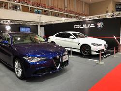 Alfa Romeo ブース 福岡モーターショー