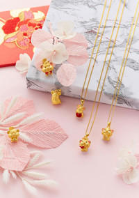 Goldheart Paper Flowers
