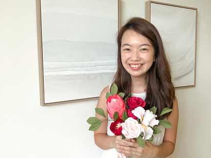 Crepe Paper Flower Artists in Singapore - TheFloralPetal