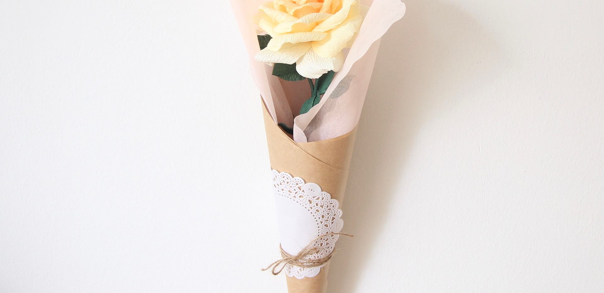 Yellow Ombre Rose