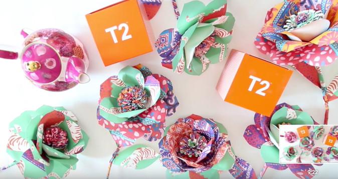 T2 Tea Flowers