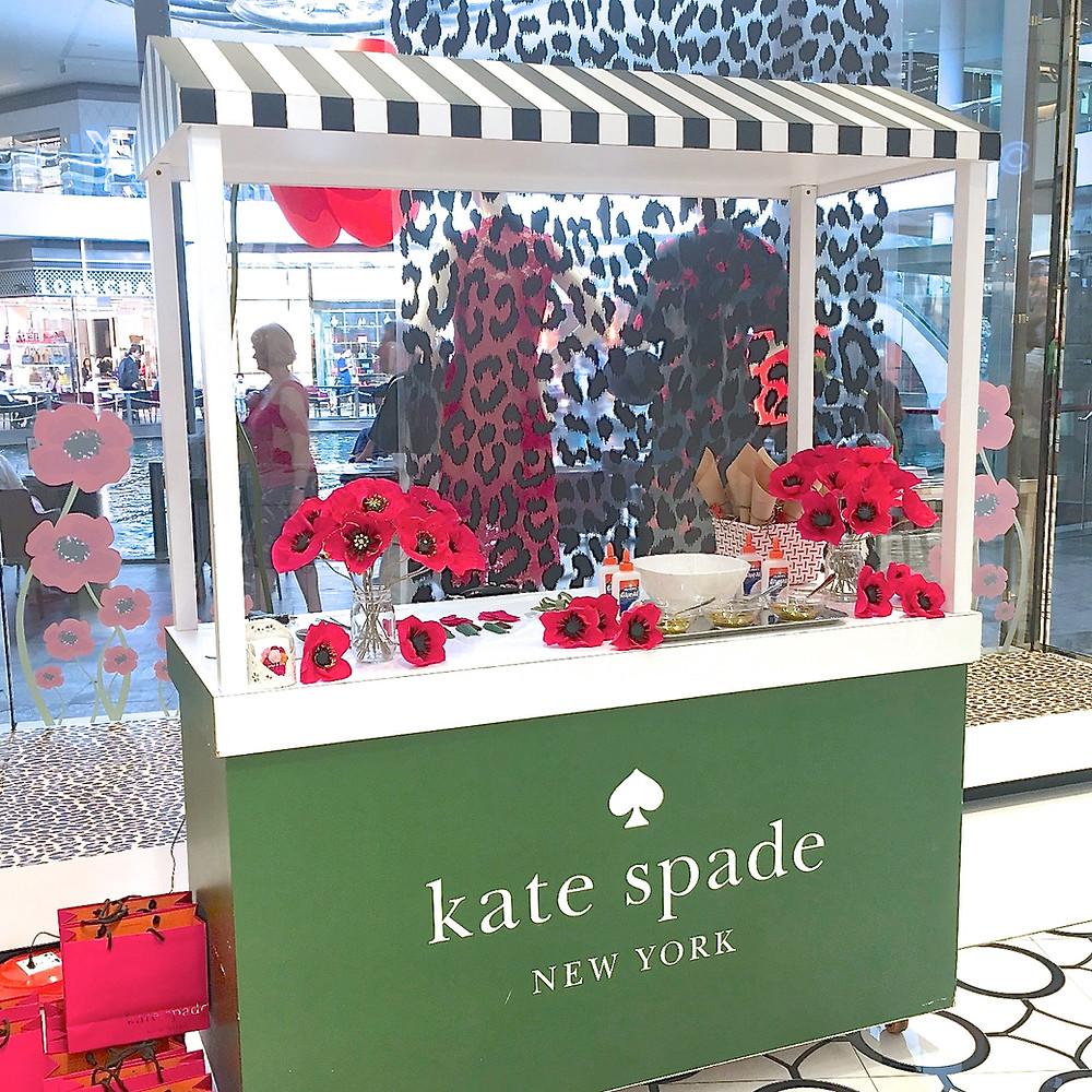 kate spade paper poppies