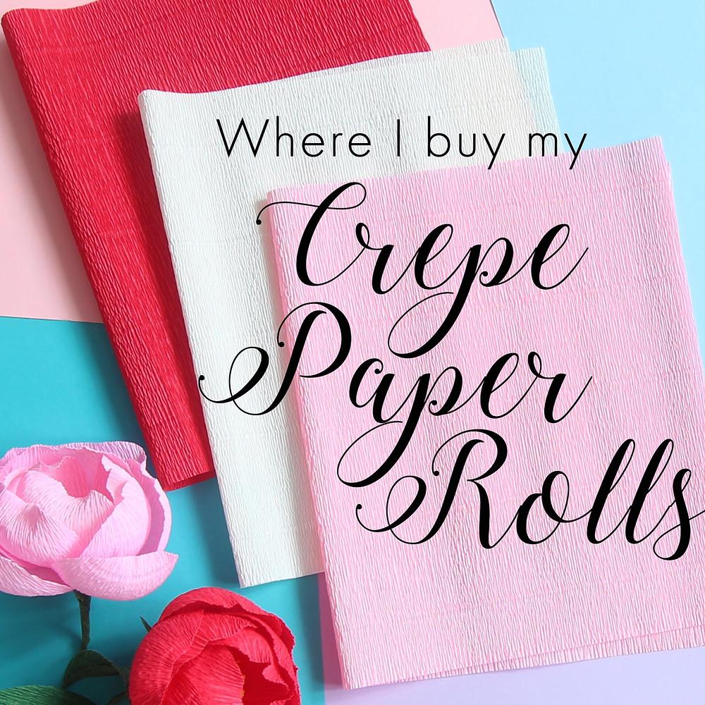 crepe paper rolls singapore