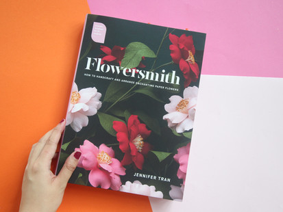 Book Review: Flowersmith - How to Handcraft and Arrange Enchanting Paper Flowers