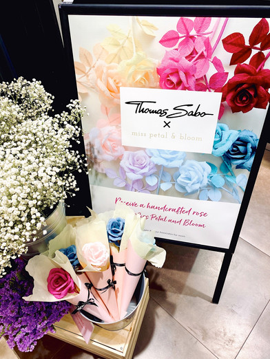 Valentine's Day Roses for Thomas Sabo