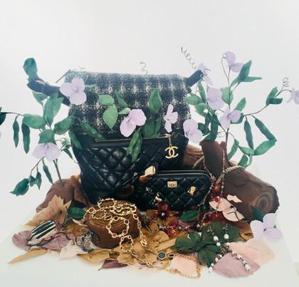 Harper's Bazaar Chanel Paper Dioramas