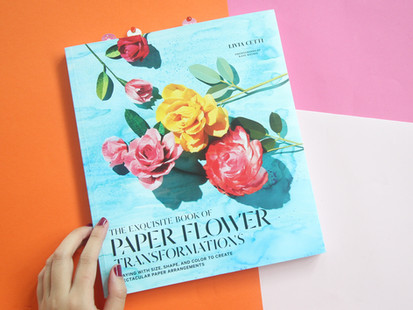 Book Review: The Exquisite Book of Paper Flower Transformations