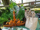 carrots at the dunkeld stall