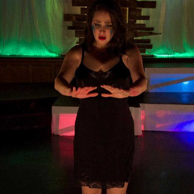 Soprano Megan Nielson as Judith in Bluebeard's Castle #OperaIthaca #BluebeardsCastle #opera #ithaca