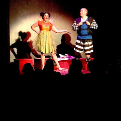 Columbina and Harlequin #pagliacci #oper