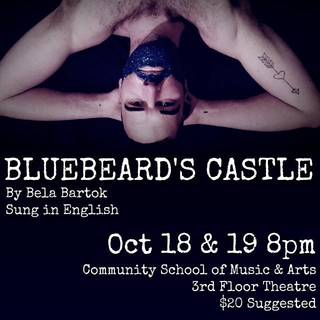 #OperaIthaca #BluebeardsCastle