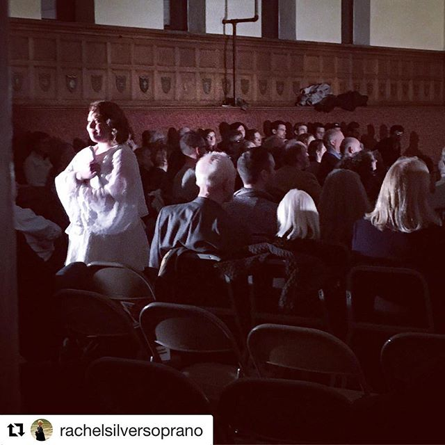#Repost _rachelsilversoprano with _get_repost_・・・_Ascending into the light! #Tosca