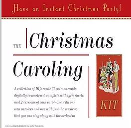 Christmas Caroling Kit
