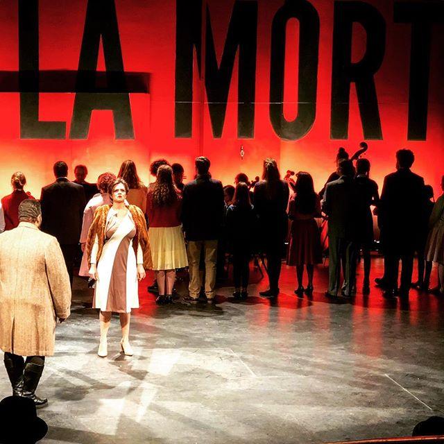 Dawn Pierce is #Carmen #operaithaca #HangarTheatre #Bizet