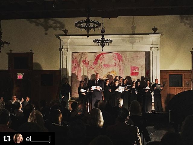 #Repost _el_____j with _get_repost_・・・_Te Deum • _operaithaca's TOSCA heads down to NYC in collab wi
