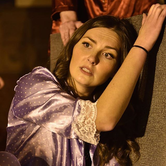 PRODUCTION PHOTOS ARE IN! Ashley Carver as Zerlina in DON GIOVANNI #oidong #dongiovanni #operaithaca