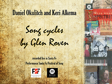 Song Cycles by Glen Roven