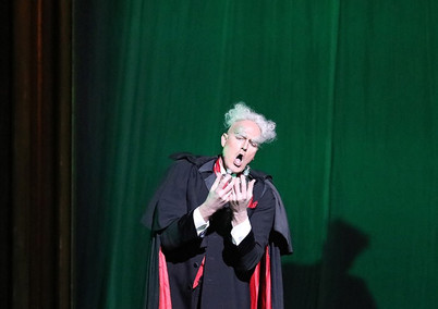 Four Villains in The Tales of Hoffmann at Nashville Opera, Photo by Anthony Popolo