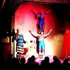 The troupe #pagliacci #operaithaca