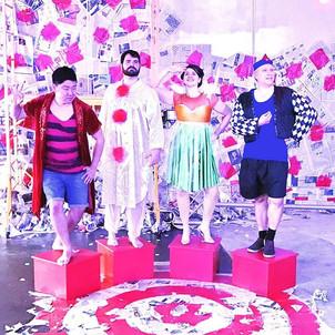 These clowns #pagliacci #operaithaca